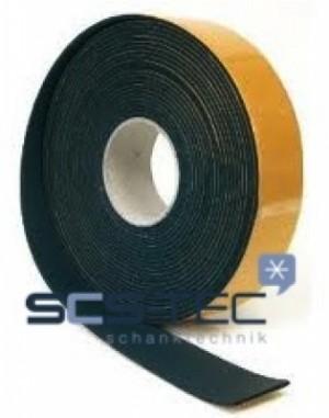 Selbstklebendes Isolierband schwarz 10m Rolle
