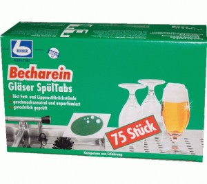 Dr. Becher Becharein, Gläserspültabs 72 Stk