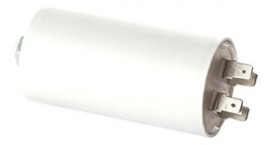 Kondensator weiss 35µF 450V