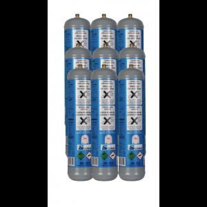 9x CO2-Zylinder 600